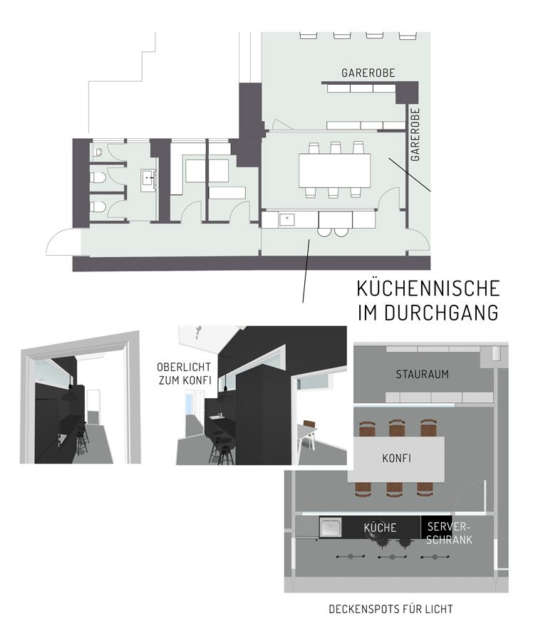 loft-kueche-schwarz-tresen